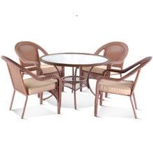 Плетеные стулья мебель дизайнер открытый обеденный зал