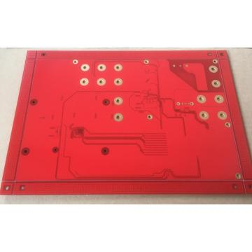4-lagers PCB med via in-pad