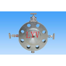 Stainless Steel Dbb Ball Valve with ISO5211 Top Flange for Gas Water