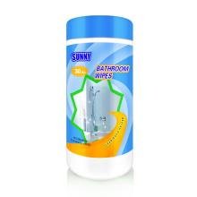 Toallitas limpias para inodoro 100% biodegradables