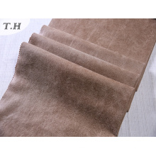 Tissu en daim rembourré pour canapé