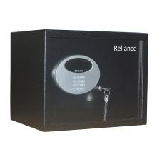 Coffre-fort de sécurité noir avec verrouillage du clavier électronique