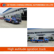 Caminhão de plataforma alta 4x2 Foton com bom preço