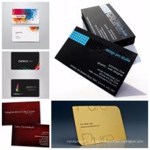 Individuelle eingewickelte benutzerdefinierte Kunst und Handwerk Custom Paper Print Visitenkarten