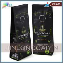 Пластиковый мешок для упаковки кофе
