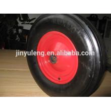 Neumáticos de goma sólida de rueda grande de 400x100