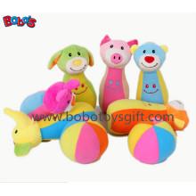 """7 """"Plüsch Baby Bauernhof Freund Bowling Ball Spielzeug Gefüllte Tier Stil Kinder Bowling Ball Spielzeug"""
