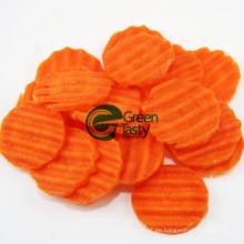 IQF Gefrorene frische Karotten Crinkle