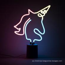 Shanghai LIYU Custom Home christmas ornament table lamp led neon light