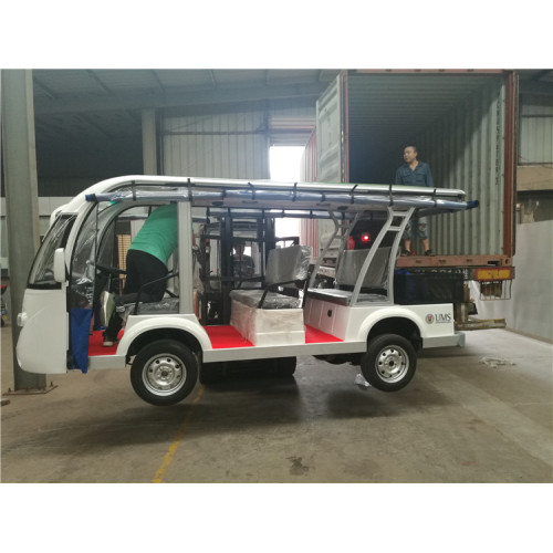 Jinghang gas powered 11 platser buss