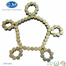 Gold-Coating Fit Armbänder Magnet für Spielzeug (DTM-001)
