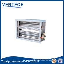 Amortisseur de contrôle de volume Ventech pour l'utilisation en ventilation