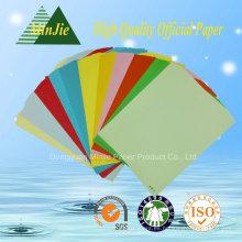 Tipo de papel de copia y color de color Colorido papel de copia ecológico