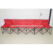 Plegable a 6 plazas camping silla con LOGO para promoción
