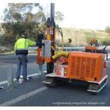 Hydraulic Highway Guardrail Pile Driver