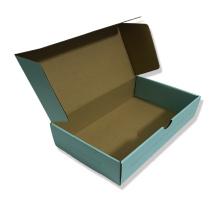 Mini boîte cadeau en papier bleu
