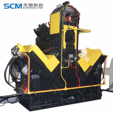 CNC Angle Drilling Machine Steel Construction Machine