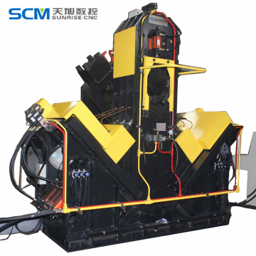 CNC+Angle+Drilling+Machine+Steel+Construction+Machine