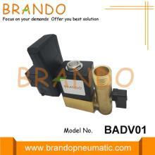 Воздушный компрессор с автоматическим сливом электромагнитного клапана с таймером