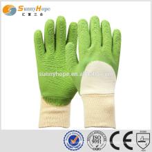 Schutzhandschuhe Latex Beschichtete Sicherheitshandschuhe arbeiten Handschuhe für Bauarbeiten