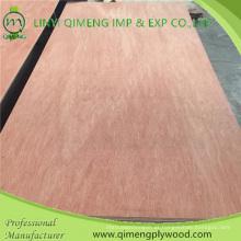 Bbcc Grade Popar ou madeira de lei núcleo 1220X2440X12mm Bintangor madeira compensada