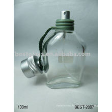 Bouteille en verre de parfum de 100ml