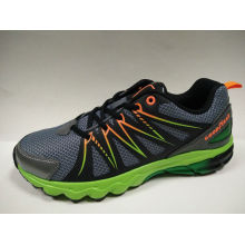 New Fashion PU+Mesh Safety Outdoor Running Shoes for Men