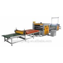 PVC/PET coating machine/ PUR hot melt glue hot press