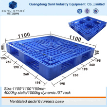Shipping Heavy Duty Injection HDPE Plastic Pallet