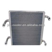 Промежуточный охладитель алюминиевых пластин для строительной техники