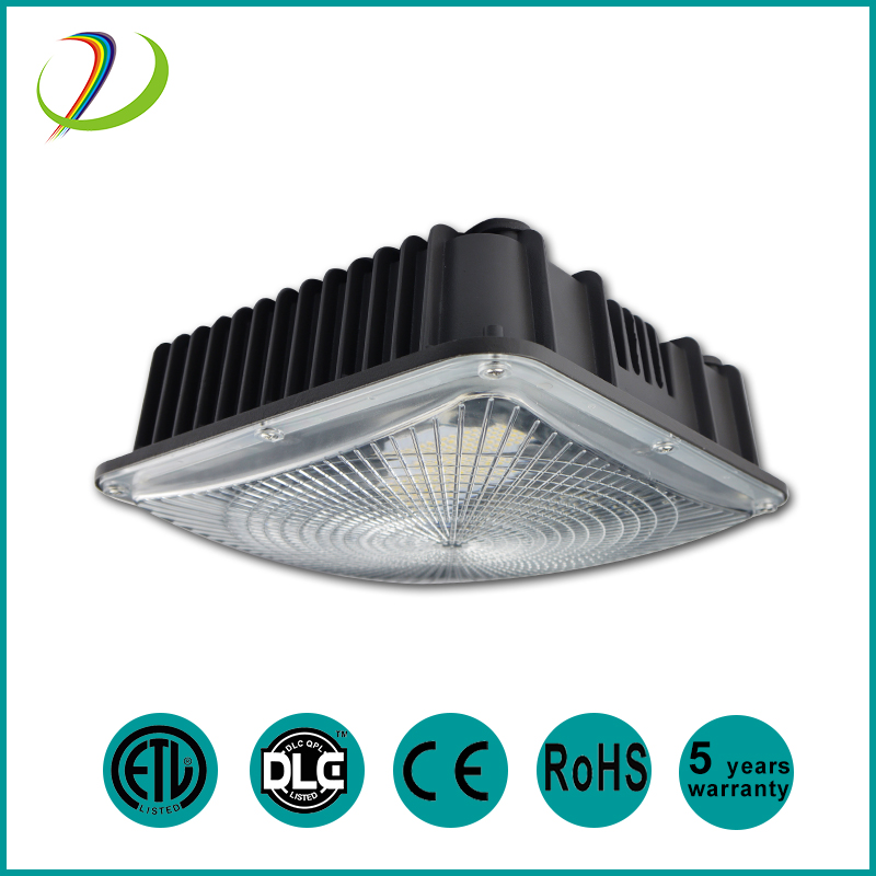 DLC 75W IP65 LED Canopy Light