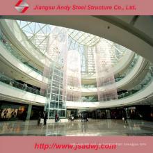 Hochwertige Lange Span Dome Skylight Stahl Rahmen Struktur Dachdecker
