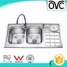 Alta calidad mejor venta plata estándar fregadero de cocina tamaños alta calidad mejor venta plata estándar fregadero de cocina tamaños