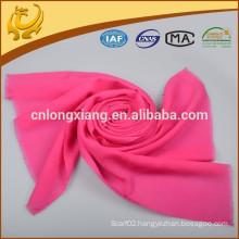 Latest Design Organic Lady Multicolor Thin Wool Scarf