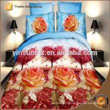 free sample twin size dubai duvet cover 3d printed bedding set