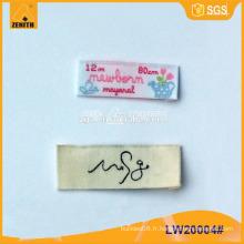 Étiquette tissée LW20004