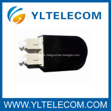 Fibra óptica cabo Patch SC Loop volta com tampa Multimode para testes de componentes de rede