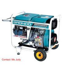 Gerador diesel refrigerado a ar 5kw 186f do quadro aberto de Bn5800dce / B