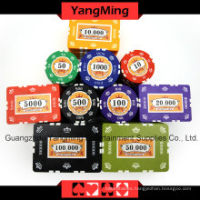Crown Clay Poker Chips Set (760PCS) Ym-Sghg003