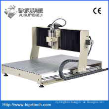ABS MDF Acrylic Wood Metallic CNC Router Engraving Machine