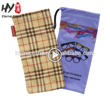 100% polyester durable microfiber cheap eye glasses pouch, eyeglass cleaning cloth polybag, glasses cleaning cloth pocket