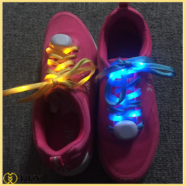 led colorful shoelaces