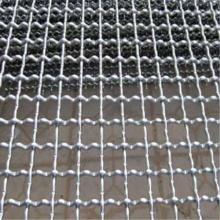 Malla de alambre prensado doble intermediado