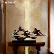 Современный дом абстрактной скульптуре украшения смола ремесла