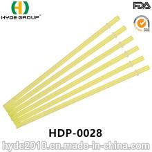 Venda quente dura e reta palha de plástico para beber (HDP-0028)