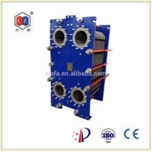 Intercambiador de calor de placas de China, fabricante de enfriadores de agua a aceite (MX25)