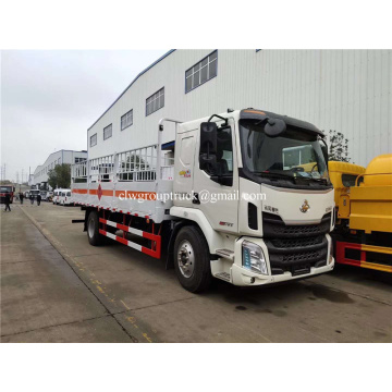 Dongfeng single axle gas cylinder transporter truck
