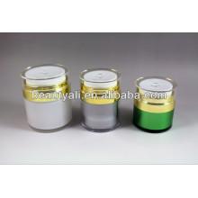 Пластмассовый акриловый косметический крем Airless Jar 15мл 30мл 50мл