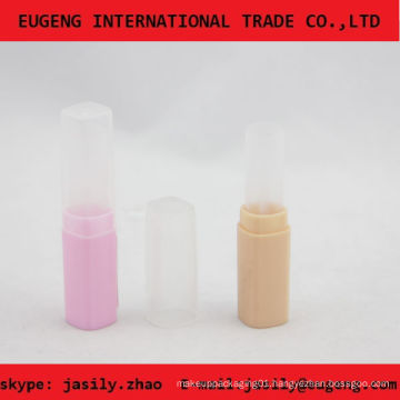 Shiny candy color lip balm containers