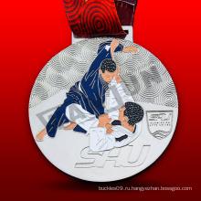 Медаль «Золотая медаль» Медаль джуу-джитсу